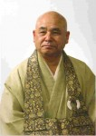 Fukushima Roshi, Chief Abbot of Tofuku-ji Zen Buddhist Sect in Kyoto.